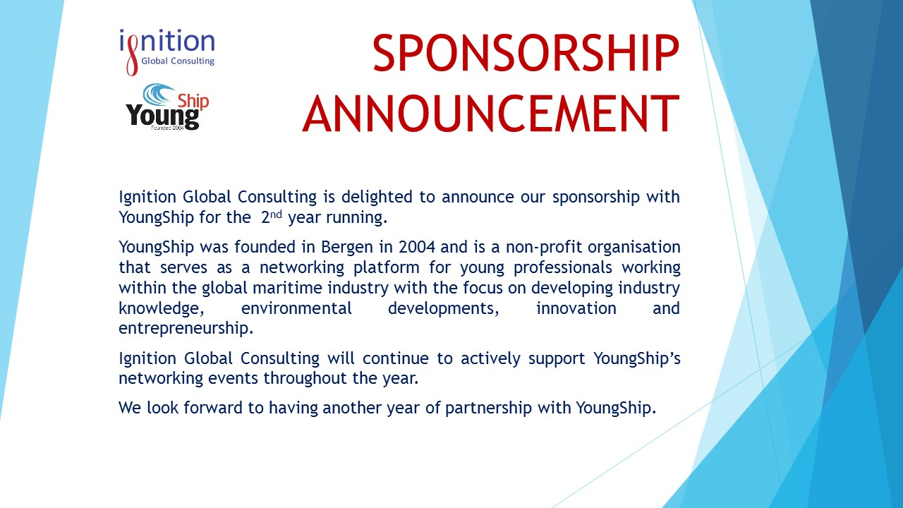 Sponsorship announcement - Youngship