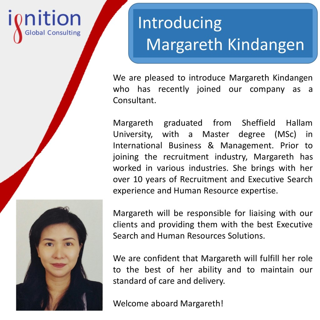 Magareth Employee Announcement