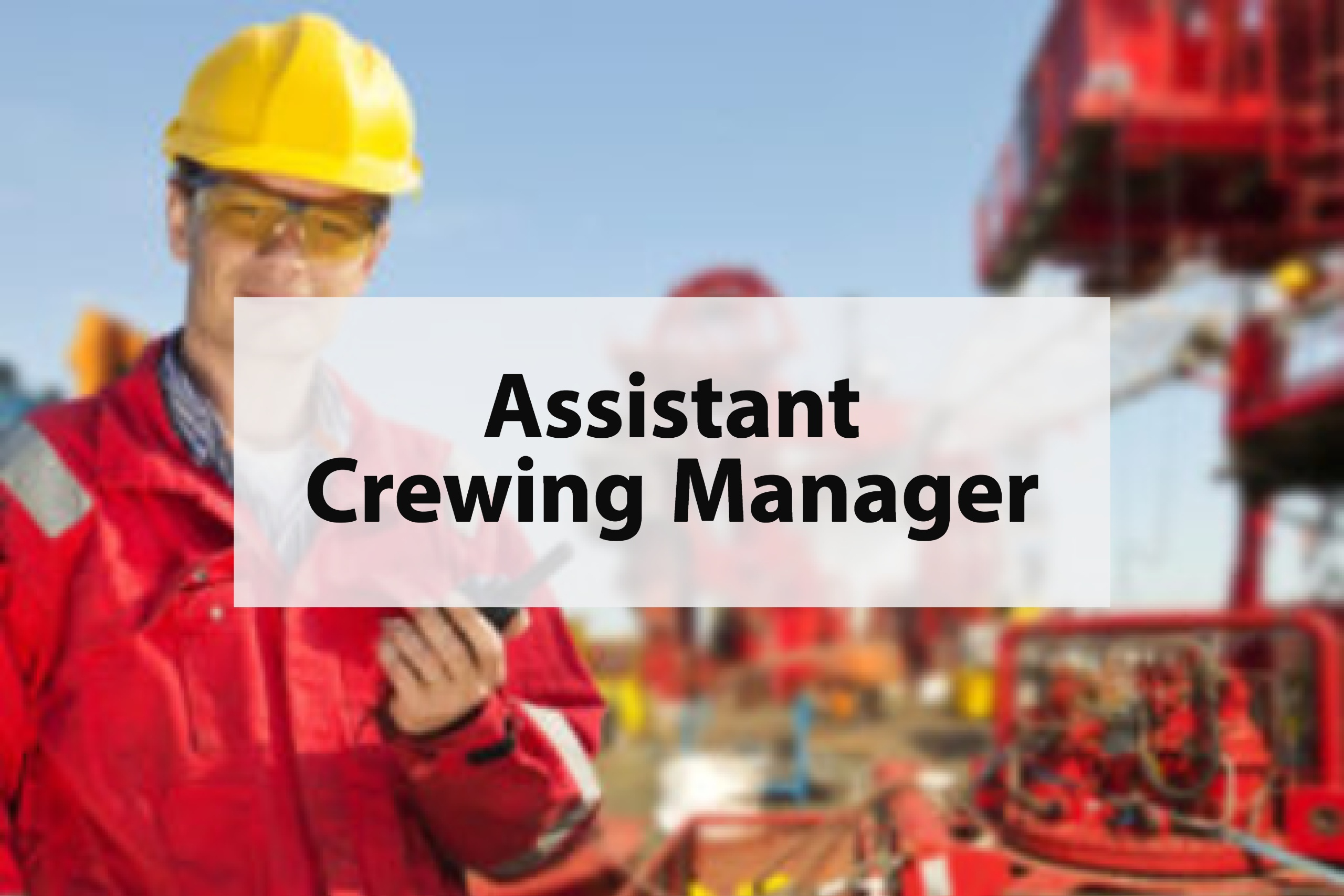 Assistant Crewing Manager - Ignition Global